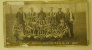 Clipstone FC Old Football Team Photo