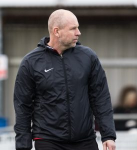 Ian Cotton Clipstone FC Manager