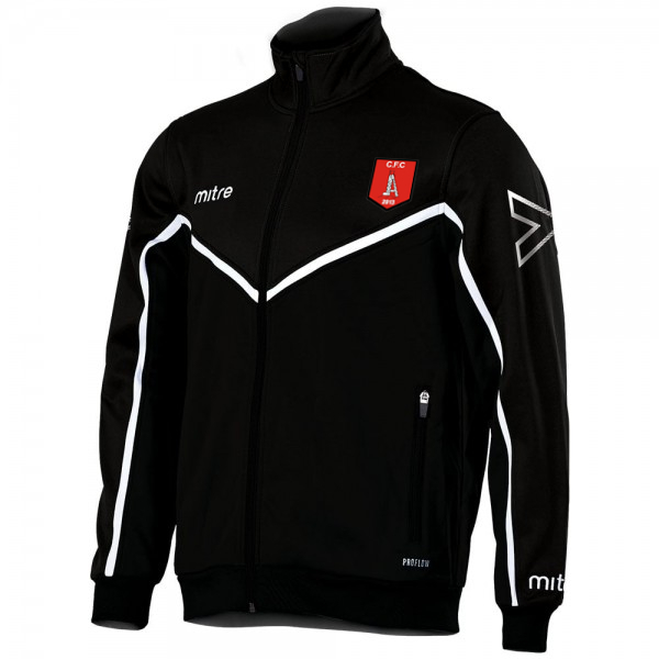Clipstone Track Jacket (Black)
