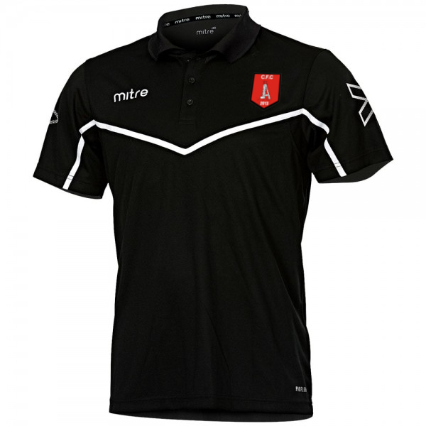 Clipstone Training Polo Shirt (Black)