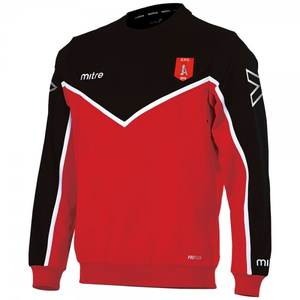 Clipstone F.C. Jumper in red