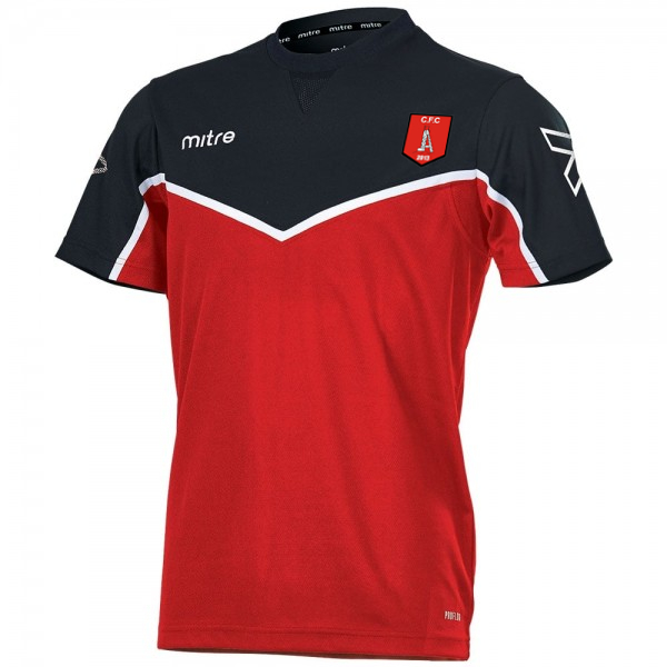 Clipstone Training T-Shirt (Red/Black)