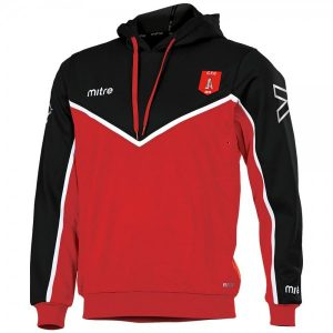Clipstone F.C. Hoody in red
