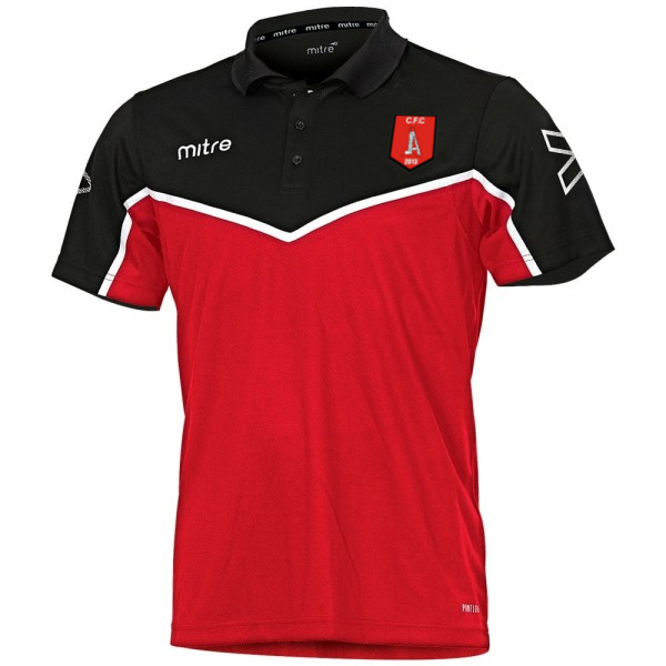 Clipstone Training Polo Shirt (Red/Black)